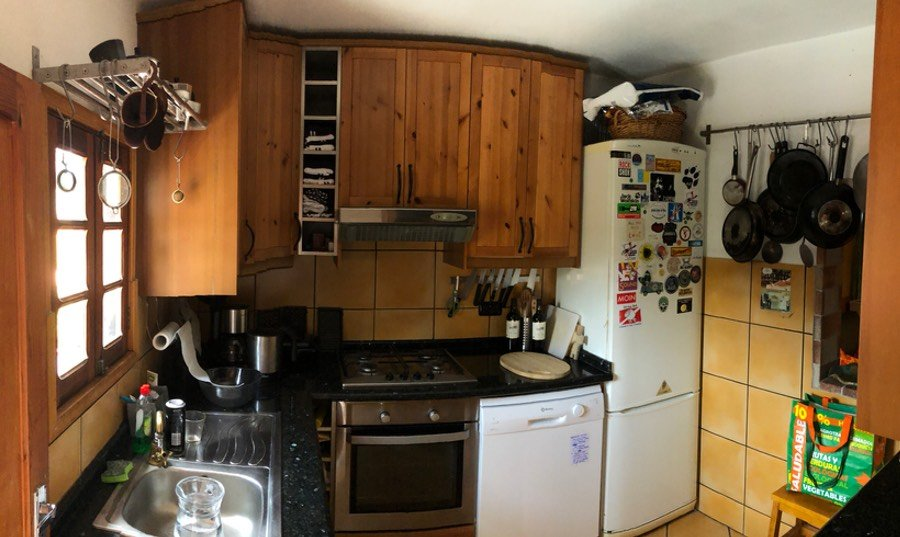 Kitchen Coliving La Palma Musicasa